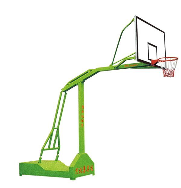 KAD-B002-A-固定式单臂篮球架