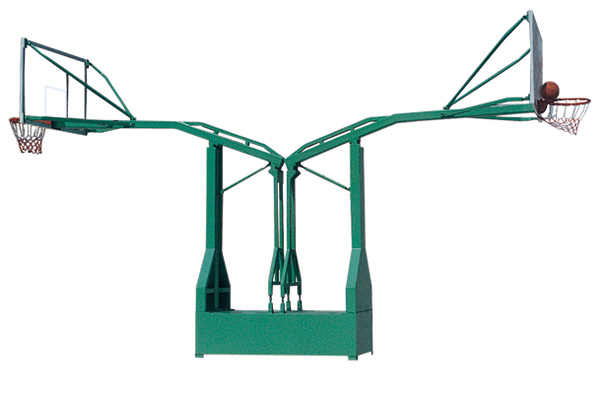 KAD-B005-A  仿液压箱式双臂海燕篮球架