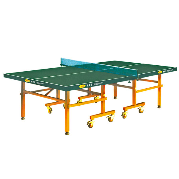 KAD-A004 带轮单折式乒乓球台