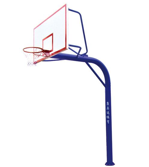 KAD-B014-C 地埋圆管篮球架