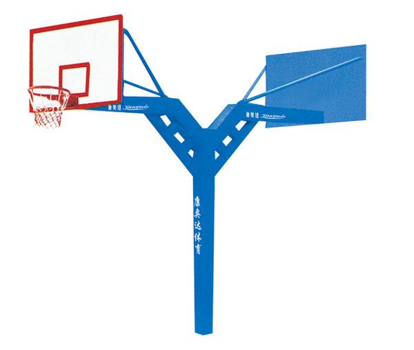 KAD-B015 固定式连体双臂篮球架