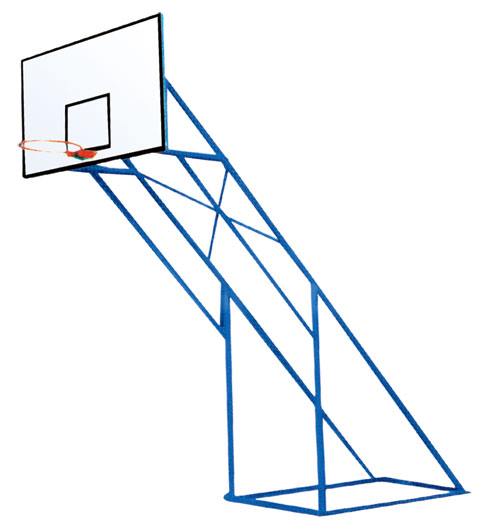 炮式篮球架