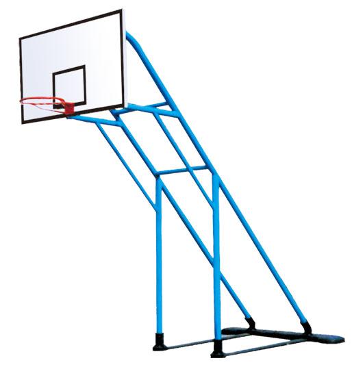 铸座炮式篮球架