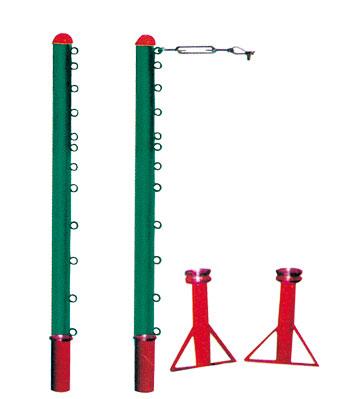 KAD-C004-地插式排羽网三用柱