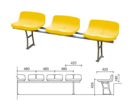 KAD-K004 直立式中空塑料椅