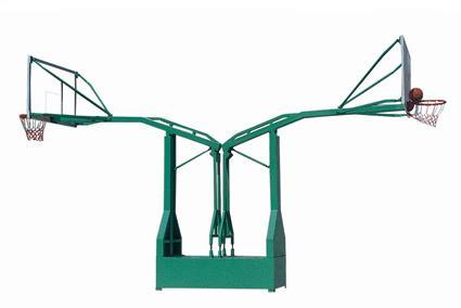 KAD- B010仿液压箱式双臂海燕篮球架