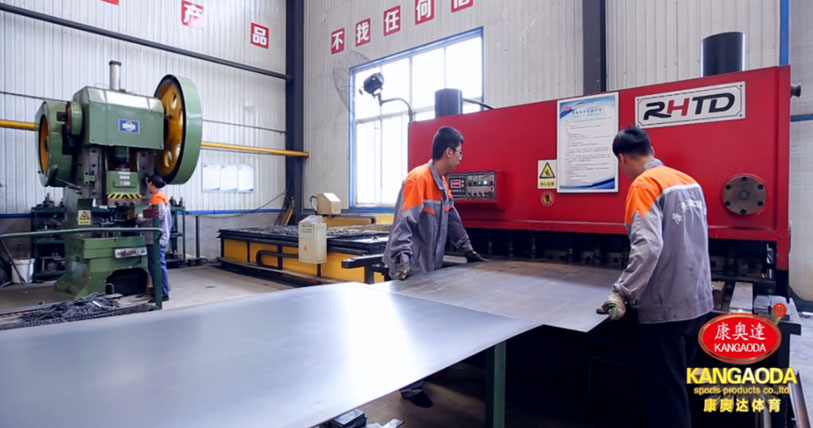 2金属类板材直线切割数控液压闸式剪板机加工