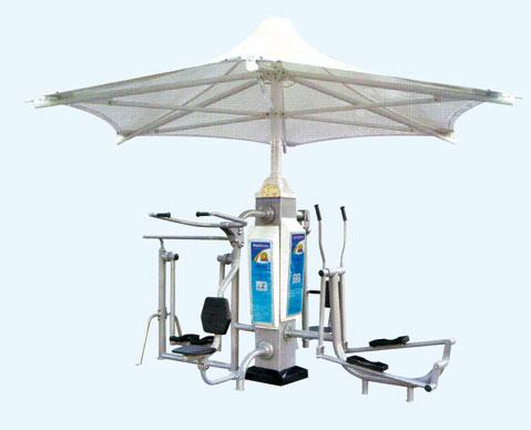 KAD-YZ03 单柱健身亭